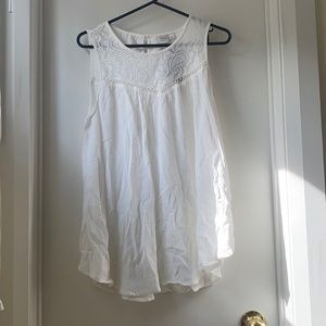 Simons NWT white tank top blouse